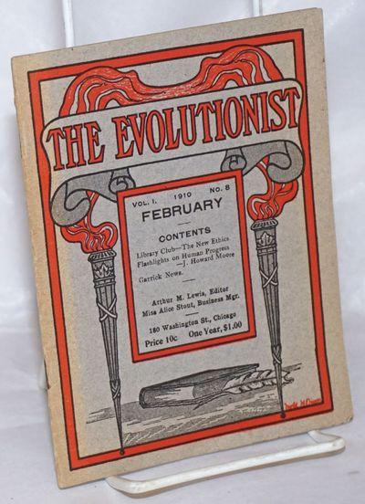Chicago, IL: Arthur M Lewis, 1910. Magazine. pp293-322 stapled wraps, 5x6.75 inches, wraps lightly e...