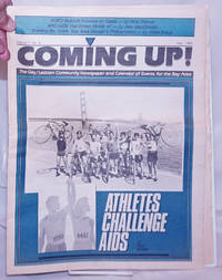 image of Coming Up! the lesbian/gay community calendar of events and newspaper for the Bay Area [aka San Francisco Bay Times] vol. 7, #8, May 1986: Athletes Challeng AIDS