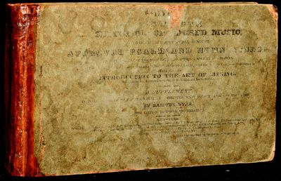 New York: J. Haven, 1828. Sixth Edition, Improved and Enlarged. Very Good binding. Oblong octavo; pr...