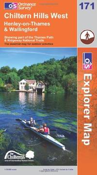 image of Chiltern Hills West, Henley-on-Thames and Wallingford (OS Explorer Map)