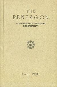 image of The Pentagon; A Mathematics Magazine for Students: Fall 1956 (Volume XVI, Number 1)