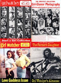 Girl Watcher (2 vintage pin-up magazines, complete set, 1959)