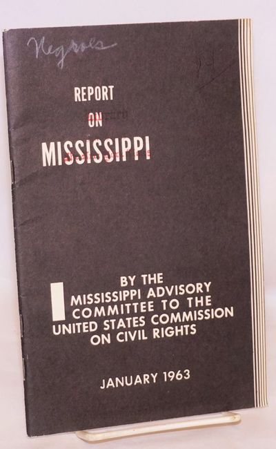 Book report on mississippi