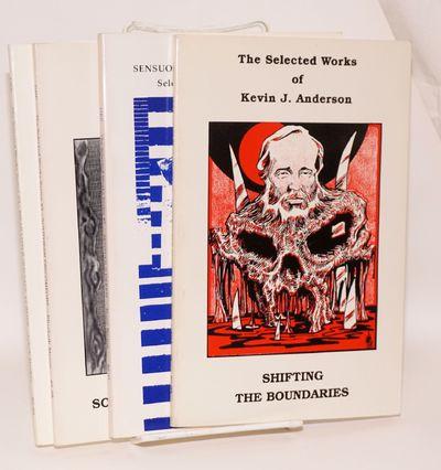 Concord, CA: Dark Regions Press, 1995. Paperback. Four softbound books, various pagination, illustra...