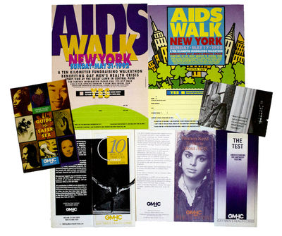 New York: GMHC, Inc, 1998. Very good +. All items measuring between 6