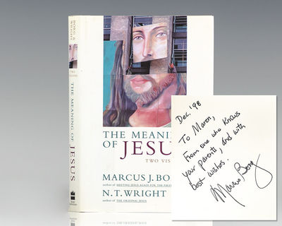 San Francisco: Harper Collins, 1999. First edition of this work by theologians Borg and Wright. Octa...