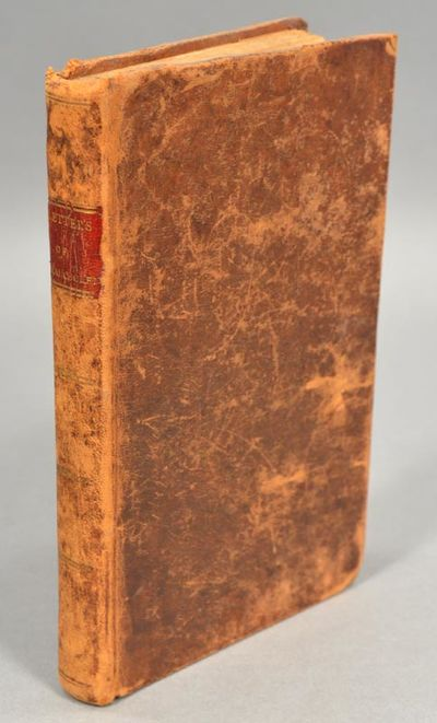 1802. LETTERS OF SHAHCOOLEN, A HINDU PHILOSOPHER, RESIDING IN PHILADELPHIA; TO HIS FRIEND EL HASSAN,...