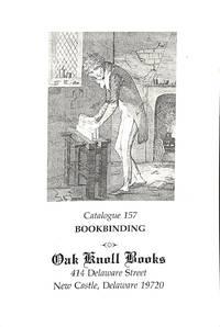 Catalogue 157: Bookbinding.