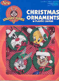 Christmas Ornaments in Plastic Canvas