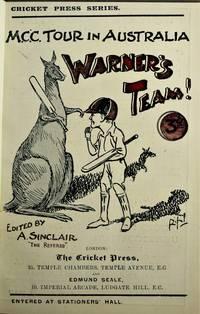 M. C. C. Tour in Australia 1903-4 - Warner's Team