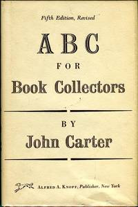 image of A B C for Book Collectors