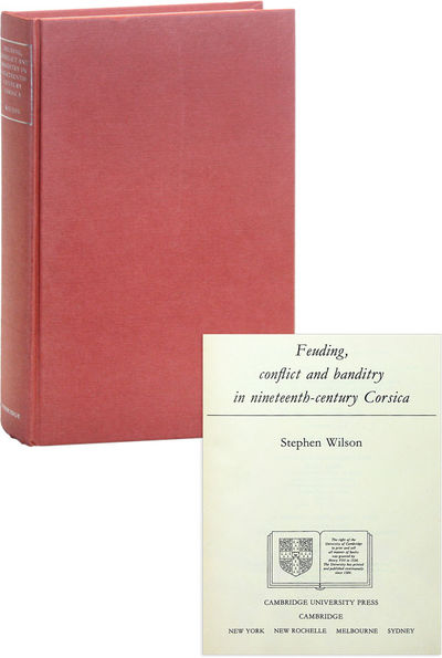 Cambridge: Cambridge University Press, 1988. First Edition. Hardcover. Octavo. Cloth boards titled i...