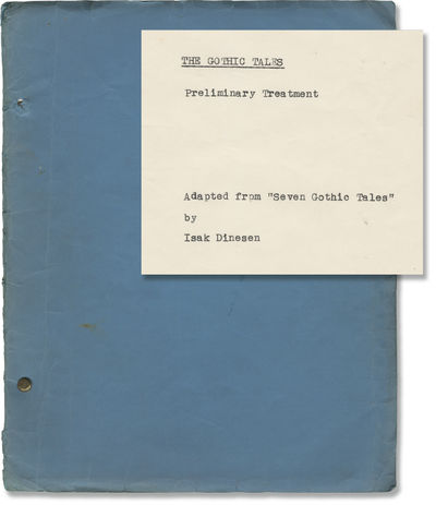 New York: Challenger Productions, 1965. Ribbon copy typescript of a Preliminary Treatment script for...