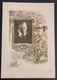 DINNER To GEORGE ADE; By the Lotos Club  New York  December 18th 1920
