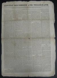 Boston Recorder and Telegraph Vol. 12 # 19, May 11, 1827