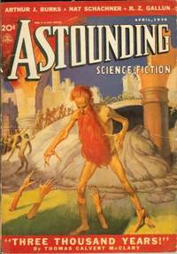 """image of ASTOUNDING Science-Fiction: April, Apr. 1938 (""""Three Thousand Years!"""")"""