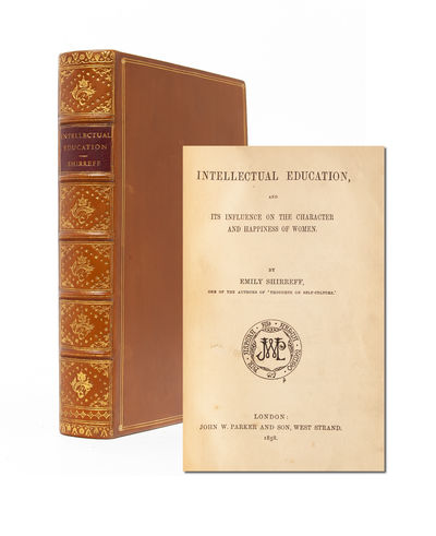 London: John W. Parker and Son, 1858. First Edition. Near Fine. Bound to style in full calf with mor...