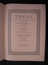 Travel in Aquatint and Lithography, 1770-1860, from the Library of J. R. Abbey (2 Vols)
