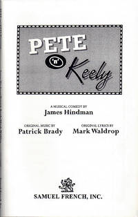 Pete 'n' Keely: A Musical Comedy.