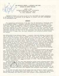 Printed Document Signed