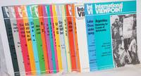 image of International viewpoint [23 issues for the year 1984]