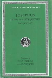 Jewish Antiquities__Books XIV-XV