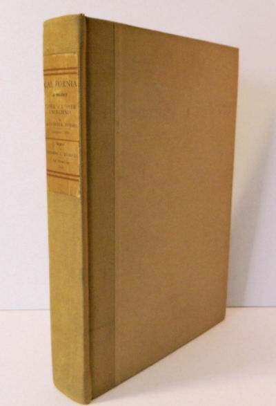 San Francisco: Thomas C. Russell, 1919. First Edition. Near Fine. William Smythe, Illus.. Signed by ...