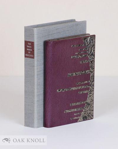 Austin, TX: Press Intermezzo, 1997. half leather / half pewter, clamshell box. Press Intermezzo. 12m...