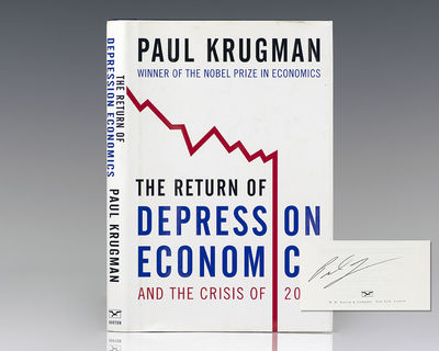 New York: W.W. Norton & Company, 2009. First edition of this work by the Nobel Prize-winning economi...