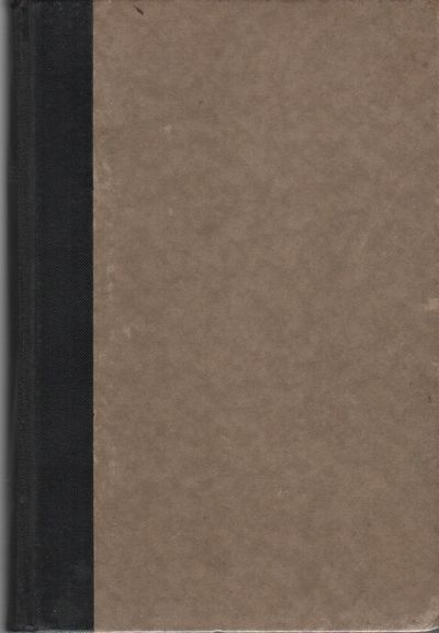New York: F.S. Crofts & Co., 1933. Hardcover. Good +. 12mo. Quarter black cloth over boards. About g...
