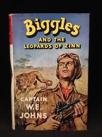image of Biggles and the Leopards of Zinn; In Central Africa Biggles & Co. Free a Primitive Race from Sinister Influences and Expose a Plot (Main character: Biggles; Publisher series: Biggles Series.)