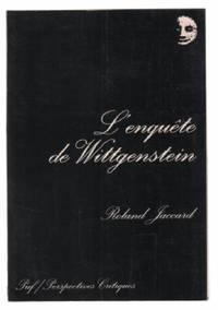 Enquete de wittgenstein (l')