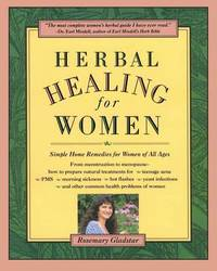 image of Herbal Healing for Women: Simple Home Remedies for Women of All Ages