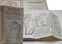 Die Welt des Buches, eine kunde vom buch