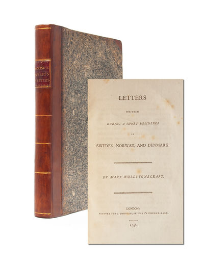 London: J. Johnson, 1796. First edition. Contemporary half calf over marbled boards, rebacked to sty...