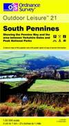 image of South Pennines (Explorer Maps)