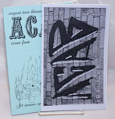 Guelph: the zine, 2010. Two issues of the Canadian anarchist zine; title stands for All Cops Are Bas...