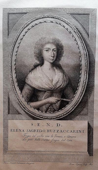 Bergamo: Dalla Stamperia Locatelli, 1792. Folio. 410 x 285 mm. (16 x 11 inches). Engraved portrait b...