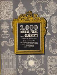 2,000 Designs, Forms, and Ornaments by Michael Estrin - 1970 - from Hard-to-Find Needlework Books (SKU: 37099)