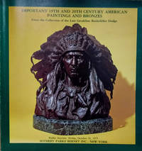 Important 19th and 20th Century American Paintings and Bronzes from the  Collection of the Late Geraldine Rockefeller Dodge