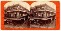 Views of American Scenery: Chinese Restaurant, Jackson Street, San Francisco, Cal. [Stereoview]
