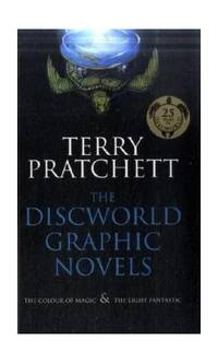 "image of The Discworld Graphic Novels: The Colour of Magic and The Light Fantastic: 25th Anniversary Edition: ""The Colour of Magic"", ""The Light Fantastic"