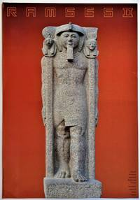 """Ramses II: The Pharaoh and His Time """"Colossal Statue of Ramses II Bearing Standards"""" (Exhibition Poster)"""