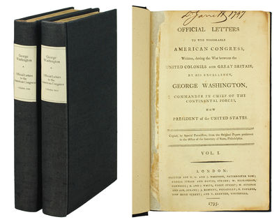 2 volumes. London: G.G. and J. Robinson, 1795. 2 volumes, 8vo, pp. -viii, 364; , 384; With the added...