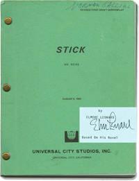 Stick (Original screenplay, signed by Elmore Leonard)