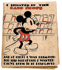 Walt Disney Mickey Mouse Birthday Card with Envelope Postmark 1935 by Walt Disney - First Issue - 1935 - from The First Edition and Biblio.com