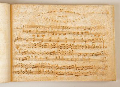 Milano: Gio. Ricordi , 1831. Oblong folio. 1f. (recto title, verso blank), 1f. (recto cast list and ...