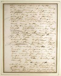 Manuscript leaf from Cape Cod