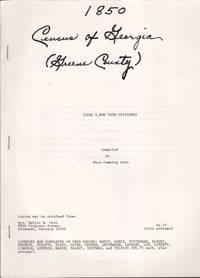 1850 Census of Georgia (Greene County) Nearly 4,800 Free Citizens