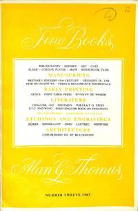 Catalogue 12/1963 - Fine Books